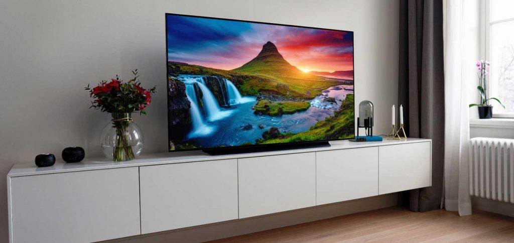 تلویزیون LG C9 OLED در بهترین تلویزیون های گیمینگ