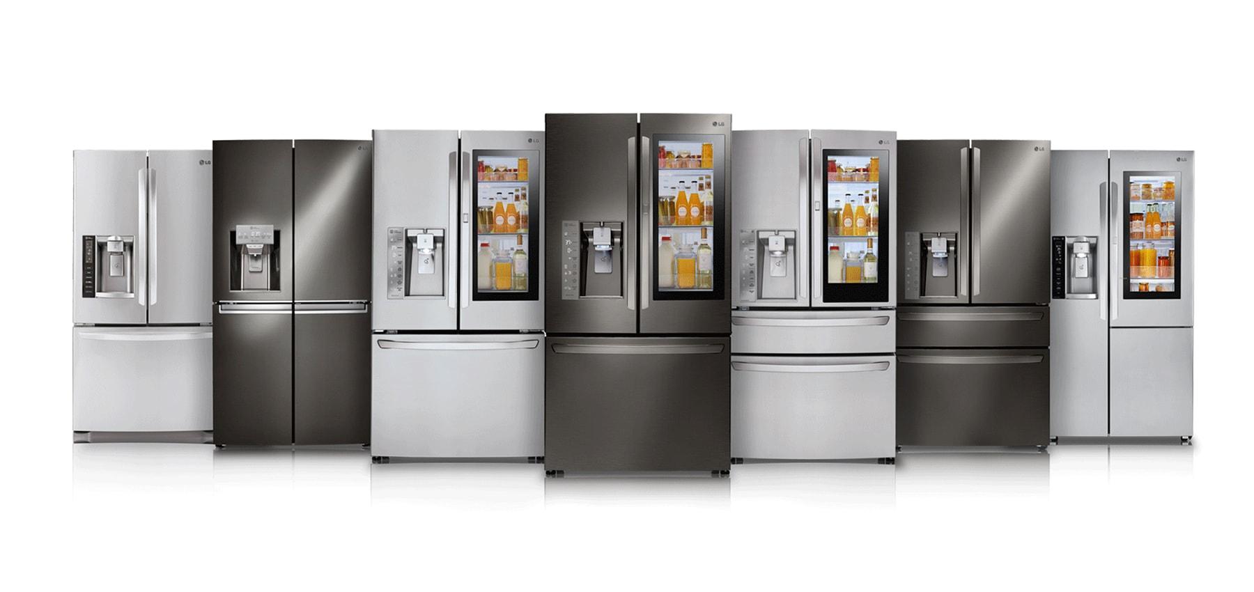 نحوه انتخاب سبک درب مناسب در راهنمای خرید یخچال
