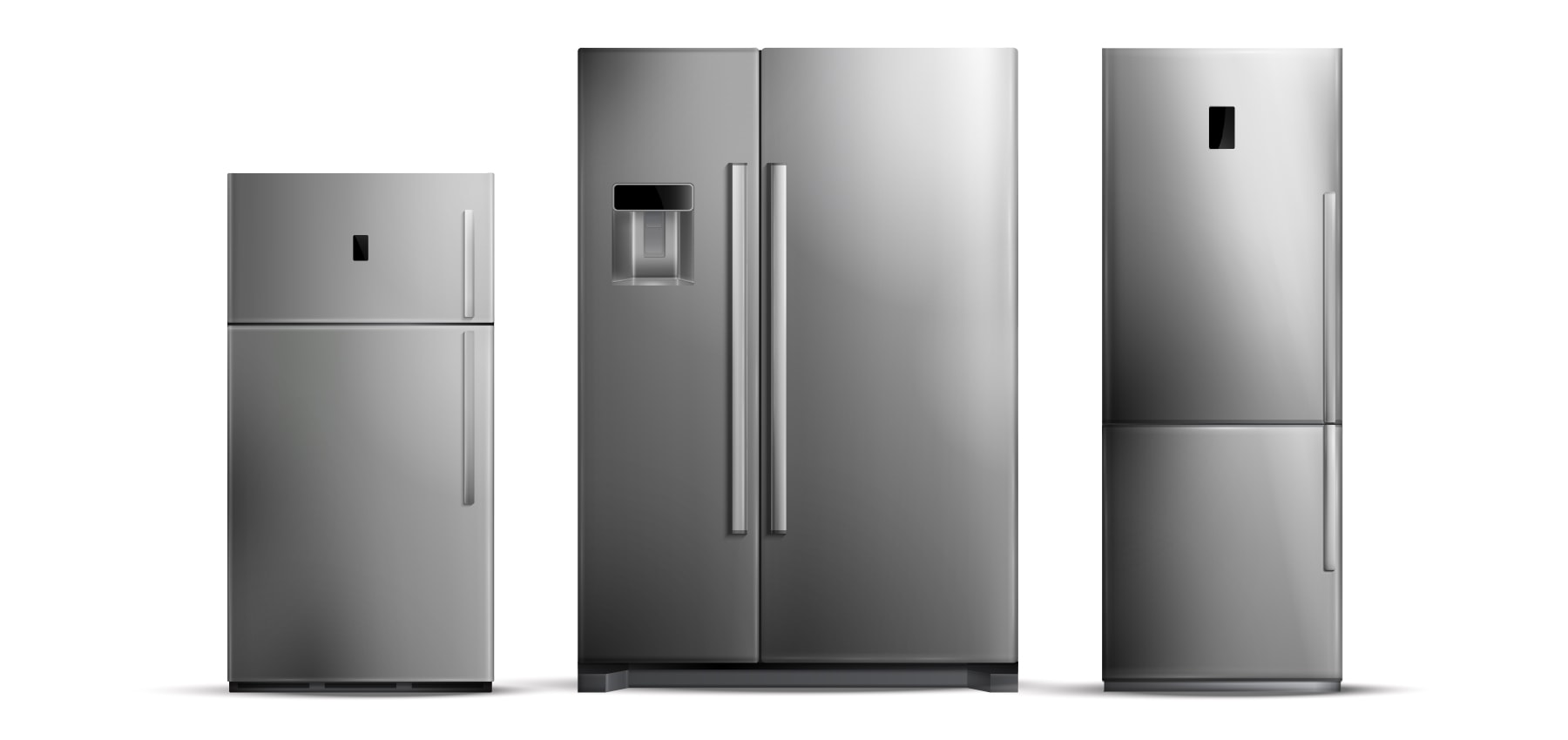 انتخاب سایز در راهنمای خرید یخچال