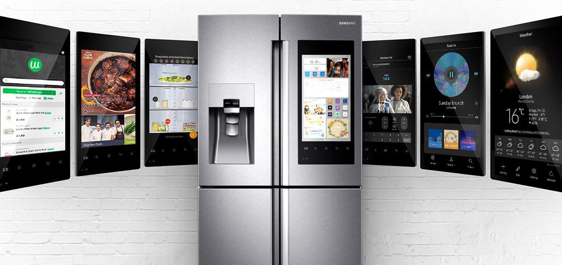 یخچال هوشمند در راهنمای خرید یخچال